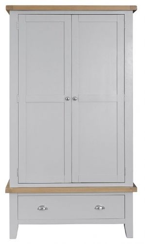 Tunbridge 2 Door 1 Drawer Wardrobe